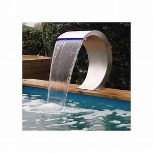 Lame D Eau Bassin : lame d 39 eau mamba ubbink pour bassin de jardin ou cascade ~ Premium-room.com Idées de Décoration