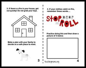 Printable Fire Safety Activity