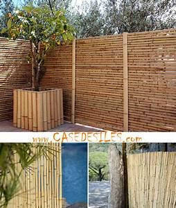 Idee De Cloture Pas Cher : cl ture bambou panneau r gulier l2 h1 2 ~ Premium-room.com Idées de Décoration