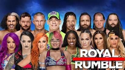 Rumble Wwe Royal Entrants Card Results Apostle