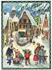 Adventskalender Mit Fotos : nostalgische adventskalender freuen sie sich auf weihnachten ~ One.caynefoto.club Haus und Dekorationen