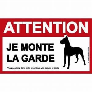 Panneau Attention Au Chien : panneau attention au chien original ~ Farleysfitness.com Idées de Décoration
