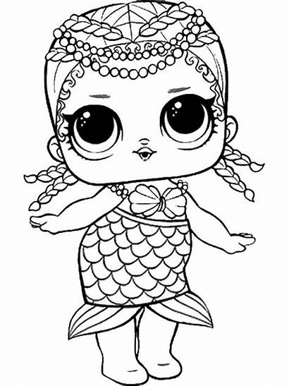 Lol Coloring Pages Dolls Printable Mycoloring Doll
