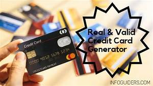 Best Free Credit Card Generators 2020 With Real Cvv