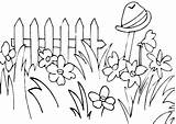 Grass Coloring Garden Pages Tall Flower Drawing Printable Secret Amazing Getcolorings Colorluna sketch template