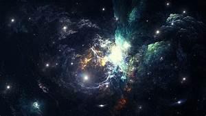 espace magnifique, nébuleuse, galaxie Fonds d'écran ...