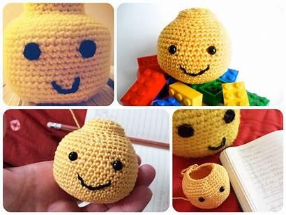 Lego Crochet Pattern Patterns Amigurumi Head Inspired