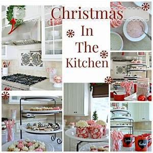 Christmas Decor Kitchen - Christmas Lights Card and Decore