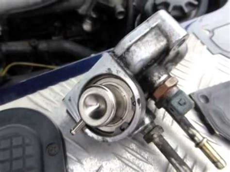changing  land rover td fuel pressure regulator youtube