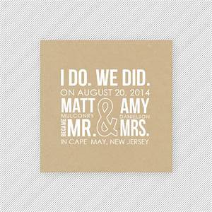 elopement announcements and new invitation designs from up With wedding invitation wording if you are already married