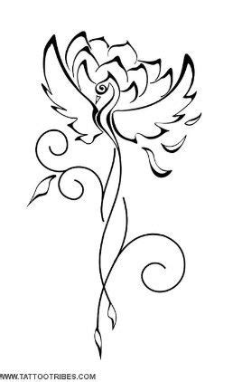 Phoenix- eternity & rebirth Lotus- perfection & overcoming every difficulty **right arm
