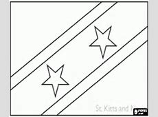 Flags of Countries of America coloring pages printable games