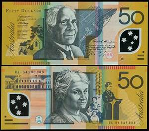 Reserve Bank of Australia Polymer Bank Notes, 1997 and ...