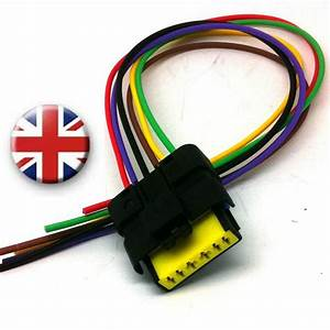 Rear Tail Light Wiring Harness Connector Renault Clio Mk 3