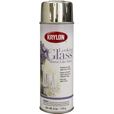 krylon looking glass mirror like spray paint 6 oz 9033