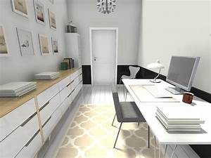 home office ideas roomsketcher With home office ideas homey feeling and office look