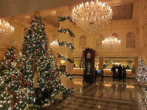 top ten hotel lobby christmas decorations top 5 decorations in new orleans beautiful the o jays and hotels