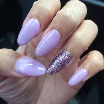 light purple acrylic nails google search notorious