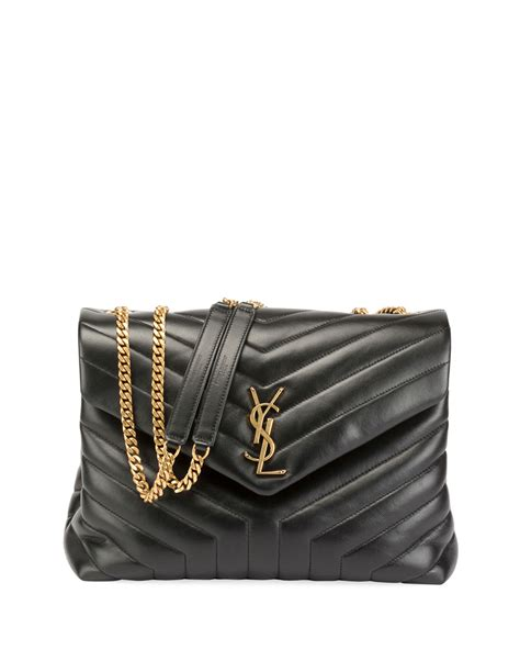 saint laurent loulou monogram ysl medium quilted  flap