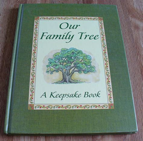 Family Genealogy Book Template by Family Tree Book Template 9 Free Word Excel Pdf