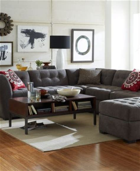 macys living room furniture 2 macy s roxanne sectional sofa www energywarden net 13030
