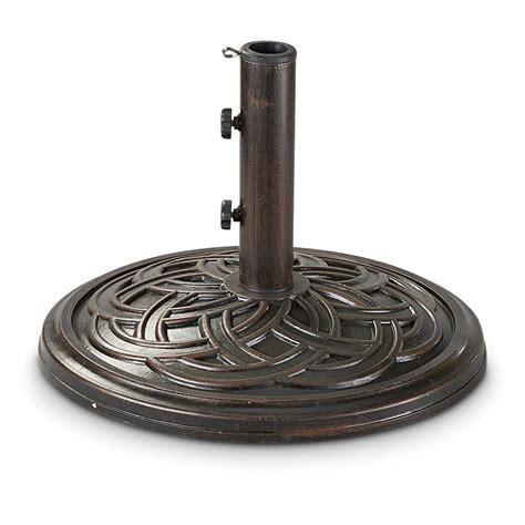 castlecreek bronze patio umbrella base 231571 patio