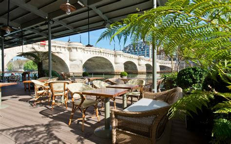 les amoureux de la cuisine les jardins du pont neuf le restaurant chic et détente en bord de seine select