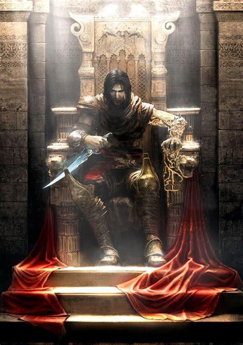 prince  throne characters art prince  persia