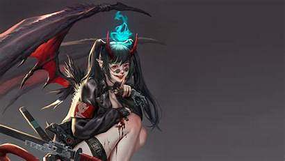 Demon 4k Sci Fi Fantasy Ultra Quad