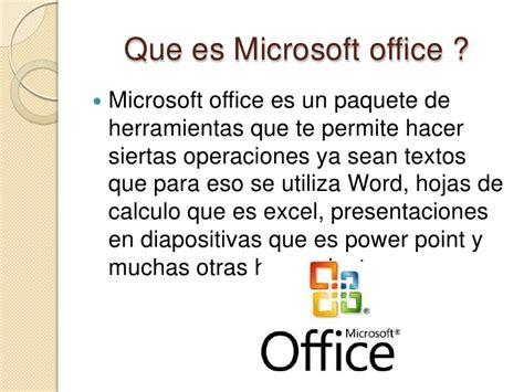 si鑒e de microsoft que es microsoft office