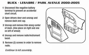 2003 Buick Park Avenue Engine Wiring Diagram : 2003 buick park avenueinstallation instructions ~ A.2002-acura-tl-radio.info Haus und Dekorationen