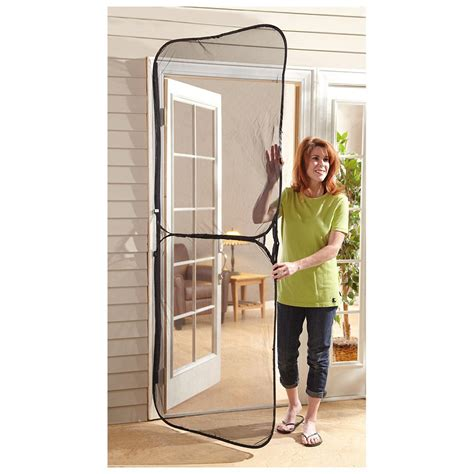 temporary screen door instant door screen 582934 pest at sportsman s