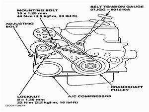 30 2006 Honda Pilot Serpentine Belt Diagram