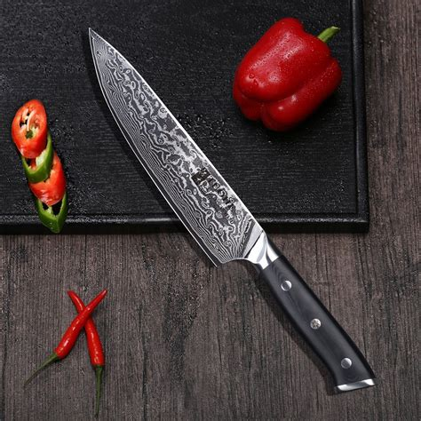 knife chef sharp kitchen ultra japanese chopping vegetables north knives inch cutting
