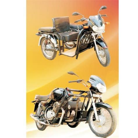 Bike Modification For Handicapped by Vehicles For Handicapped Bajaj Three Wheeler