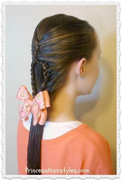 Braid Teardrop Hairstyle Mermaid Braids Hairstyles Hair
