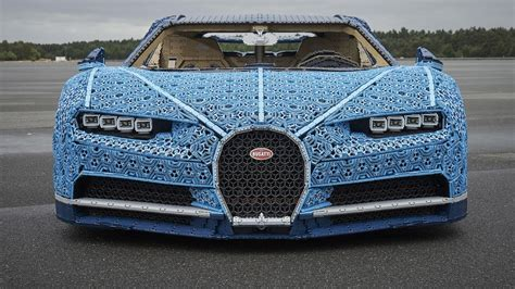 lego bugatti 1 1 size lego bugatti chiron actually works has 1 million pieces roadshow