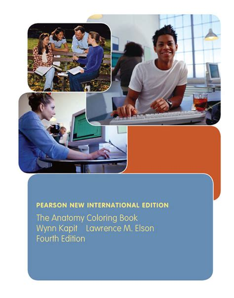 pearson education  anatomy coloring book pearson
