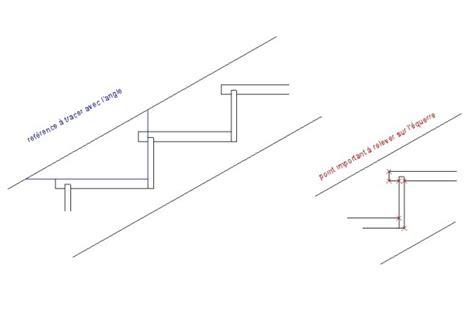 trace d un escalier equerre v10 rapporteuse d angle