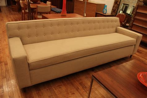 Foot Sofa by 8 Foot Mint Modern Tuxedo Dunbar Wormley Style Sofa