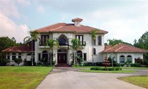 Mediterranean Homes In Florida Florida Mediterranean House