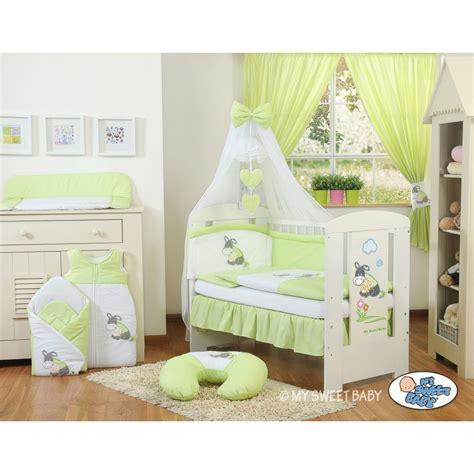 accessoire chambre bebe parure de lit bébé âne vert accessoire pour bébé pas cher