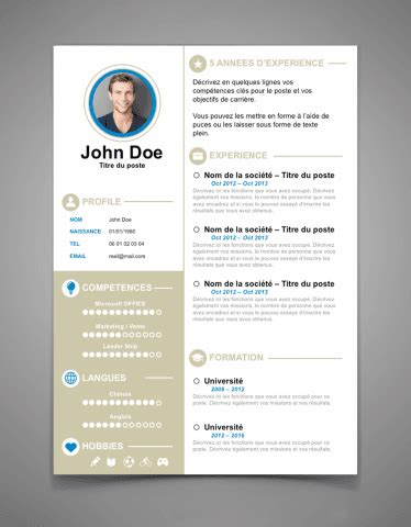 Theme Cv Word by Cv Word Joli