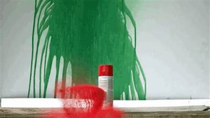 Spray Paint Cans Hit Floss