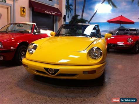 1993 Alfa Romeo Spider For Sale by 1993 Alfa Romeo Spider For Sale In Canada