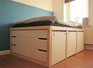 Hochbett Mit Kleiderschrank Unter Dem Bett : der beste ikea bett hack den du je gesehen hast ikea hacks pimps blog new swedish design ~ Sanjose-hotels-ca.com Haus und Dekorationen