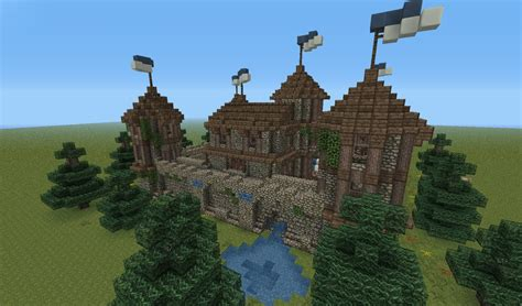 Medieval Fortress Minecraft Project