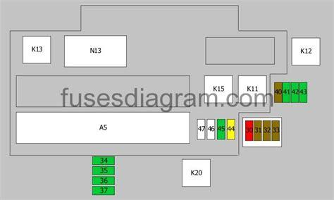 E34 Fuse Box Diagram by Fuse Box Diagram Bmw 5 E34