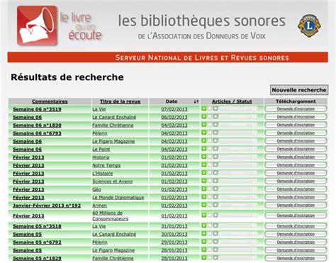 Serveur De Listes De Diffusion Pour Le Le Serveur National D 39 Audiolivres Et D 39 Audiorevues De L