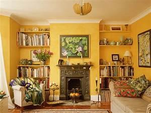 Warm, Paint, Colors, Living, Room, U2013, Homesfeed